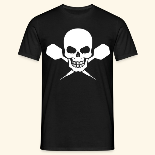 Dart till death - Männer T-Shirt