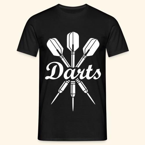 Oldschool Darts T-Shirt - Männer T-Shirt