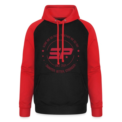 Sweat SuperPhysique  - Sweat-shirt baseball unisexe