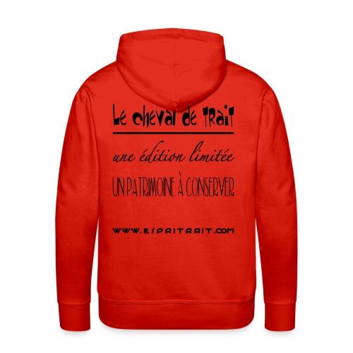 Pull à capuche H Edition Limitee - Sweat-shirt à capuche Premium pour hommes