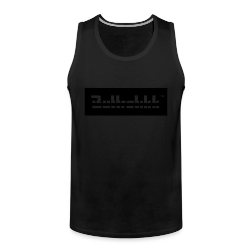 Black on black, Tanktop - Männer Premium Tank Top