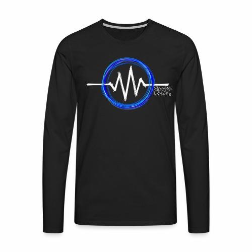 ElectroNoize Logo - langarm Shirt - Männer Premium Langarmshirt