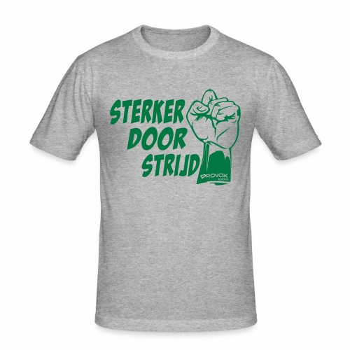 Sterker (glitter) - slim fit T-shirt