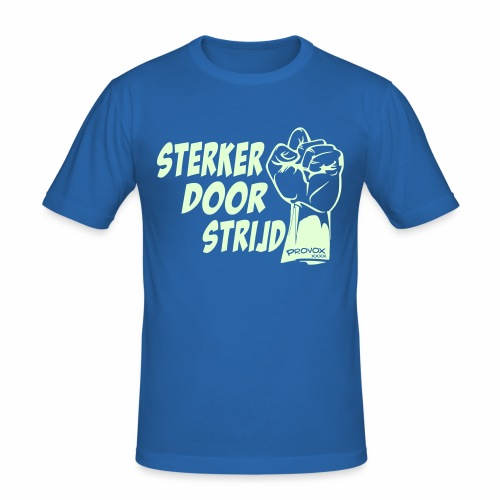 Sterker (glow in the dark) - slim fit T-shirt