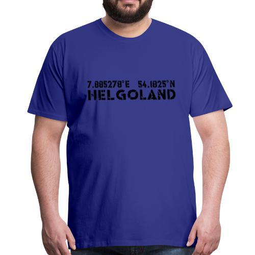 Helgoland Fan - Männer Premium T-Shirt