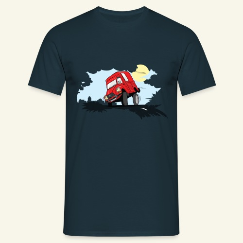 Je penche ... Acadiane - T-shirt Homme