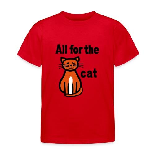 T-Shirt Alles für die Katz - Kinder T-Shirt