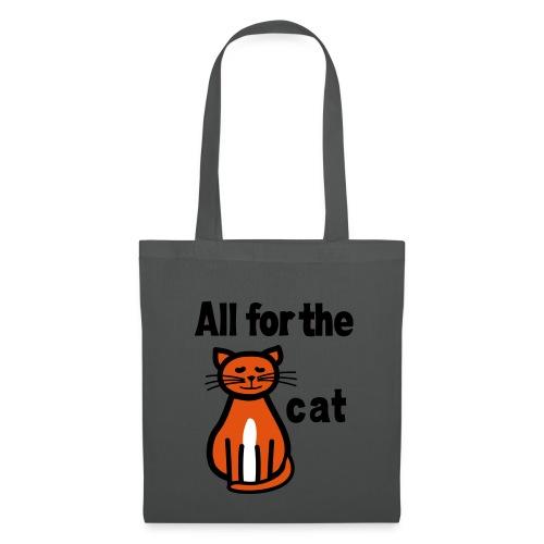 T-Shirt Alles für die Katz - Stoffbeutel