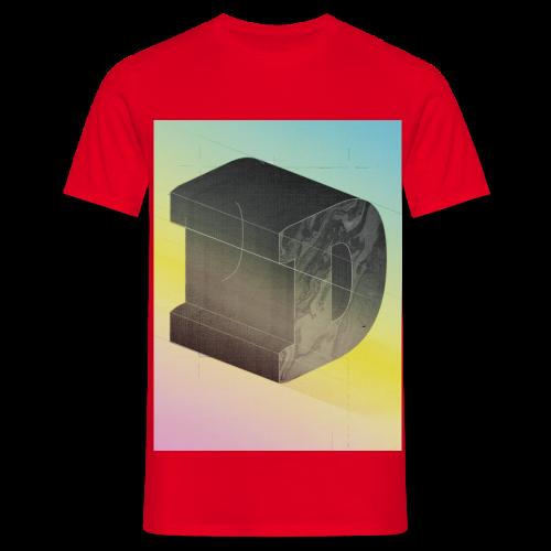 reDDD font letter D - Männer T-Shirt