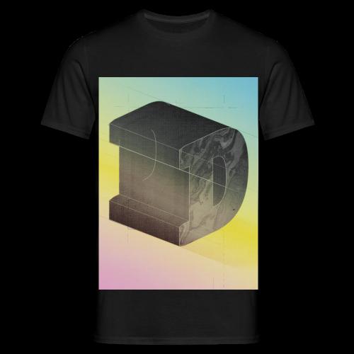 dickes D - Männer T-Shirt