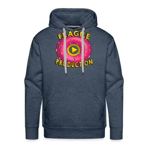 Fragile Prod  - Sweat-shirt à capuche Premium pour hommes