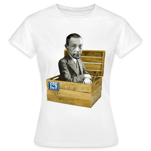 Rachmaninoff in der Kiste - Frauen T-Shirt