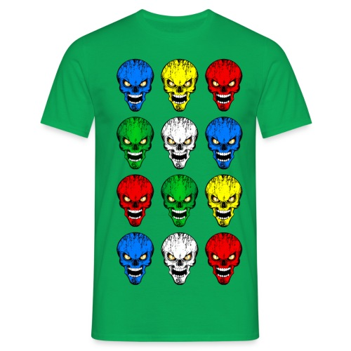 Skulls, têtes de mort - T-shirt Homme