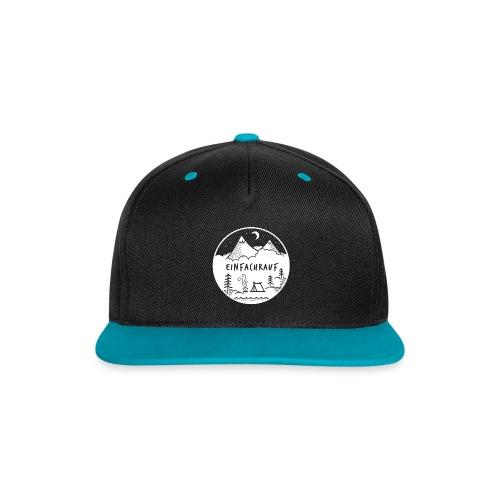 Logo-Cap 2018 Snapback - Kontrast Snapback Cap