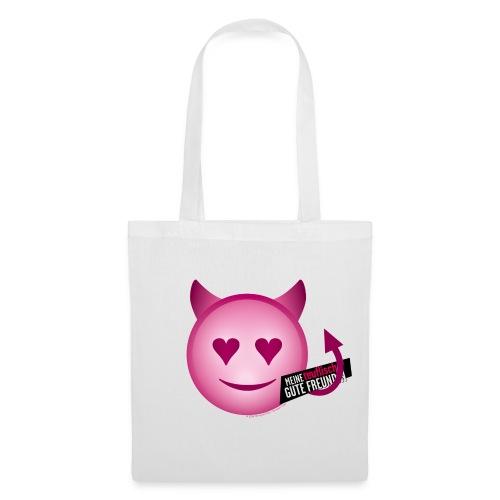 Teufel Emoji - Stoffbeutel