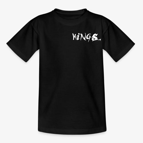 Kids T-shirt Black - Teenager T-shirt