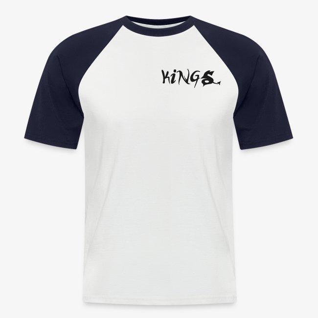 T-Shirt white/navy
