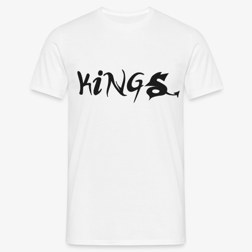 T-Shirt Men White - Mannen T-shirt