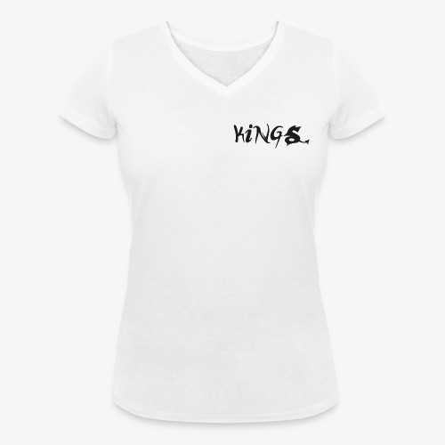 T-Shirt Women - Vrouwen bio T-shirt met V-hals van Stanley & Stella