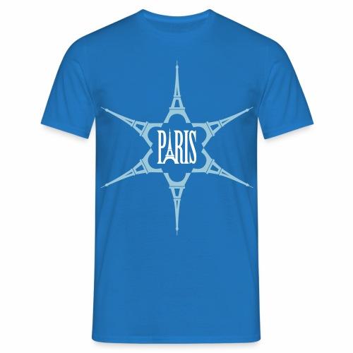 Rosace Tour Eiffel - T-shirt Homme