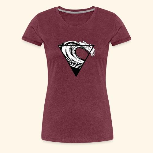 Wave - Frauen Premium T-Shirt