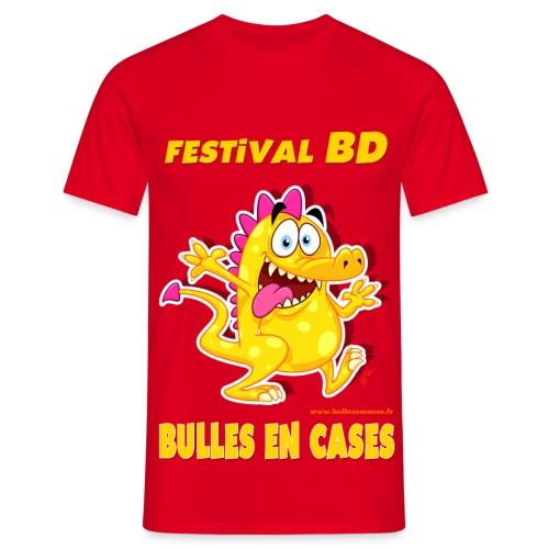 Bulles en cases - V3 - T-shirt Homme