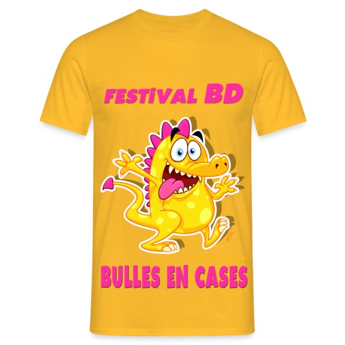 Bulles en cases - V1 - T-shirt Homme