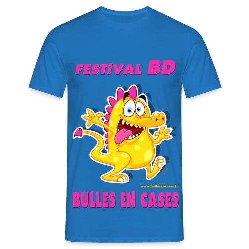 Bulles en cases - V2 - T-shirt Homme