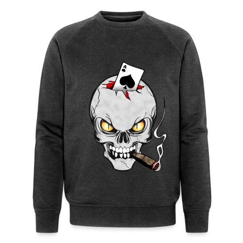 Skull poker - Sweat-shirt bio Stanley & Stella Homme