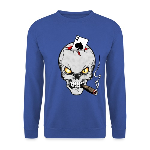 Skull poker - Sweat-shirt Homme