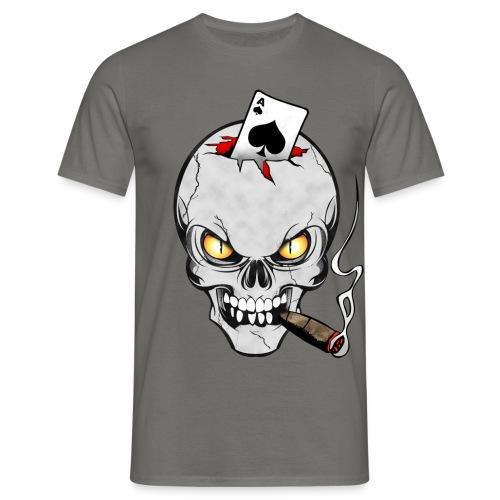 Skull poker - T-shirt Homme
