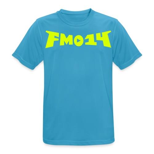 FM014 Poly-Shirt - Männer T-Shirt atmungsaktiv