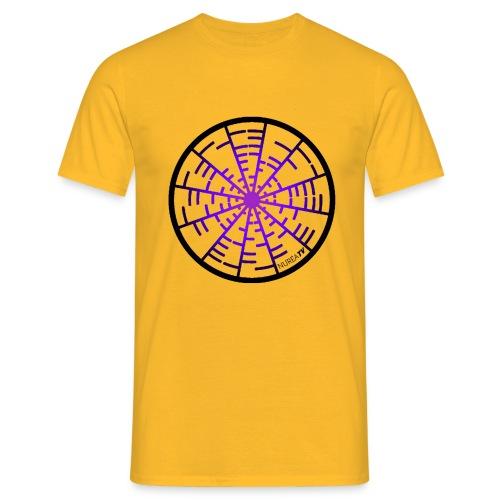 T-shirt Homme Nuréa :  Crop Circle Sound - T-shirt Homme