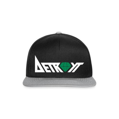 Cap Schwarz./ Grün  - Snapback Cap