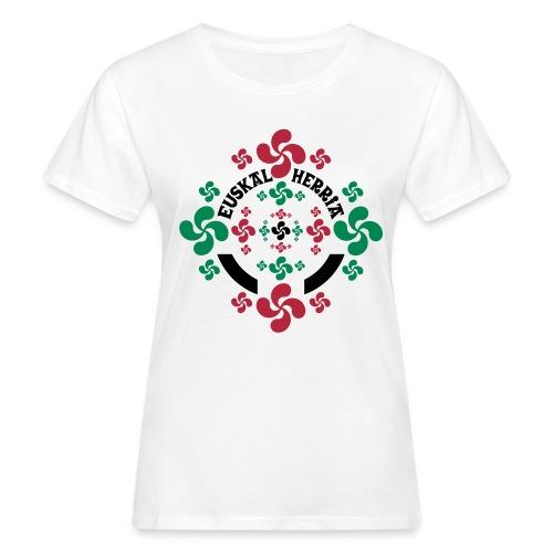 Croix Basque Lauburu - T-shirt bio Femme