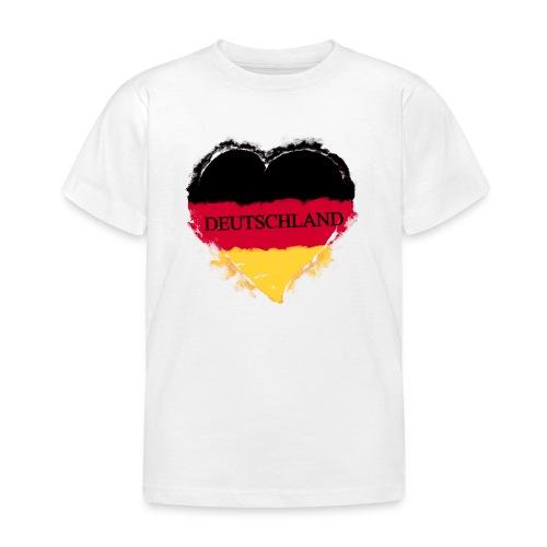 Deutschland Herz | Kinder T-Shirt - Kinder T-Shirt