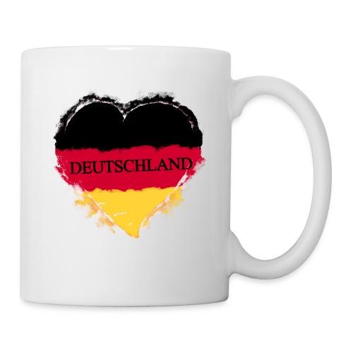 Deutschland Herz | Tasse - Tasse
