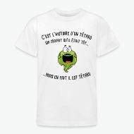 T-shirt l'histoire du tetard blanc par Tshirt Family