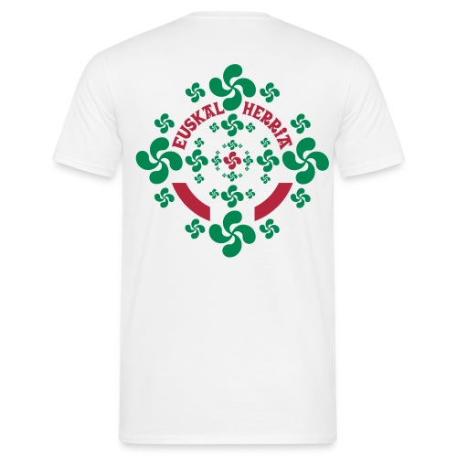 Croix Basque Lauburu - T-shirt Homme