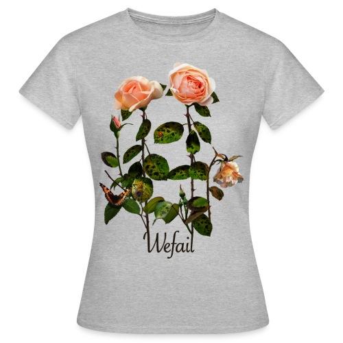 Flowers (Women's fit) - Women's T-Shirt