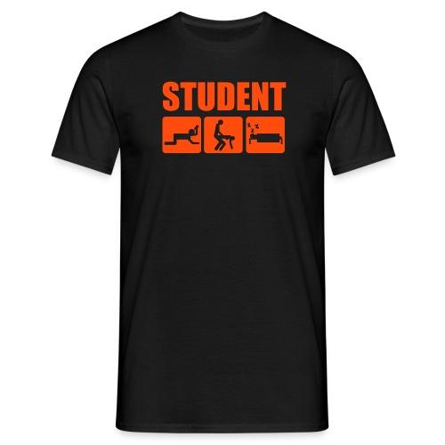 Student - T-skjorte for menn