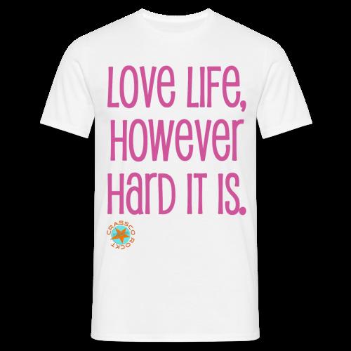 LOVE LIFE - Männer T-Shirt