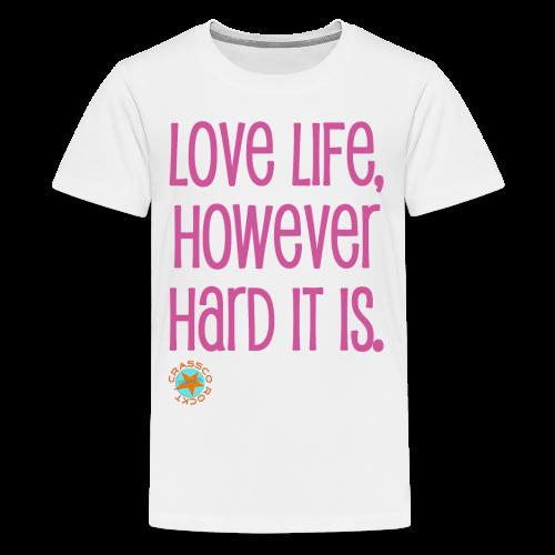 LOVE LIFE - TEEN - Teenager Premium T-Shirt