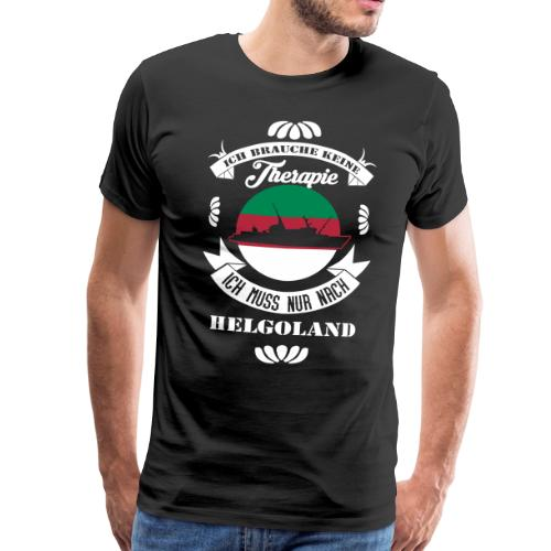 Helgoland Fan Shirt mit der MS Helgoland - Männer Premium T-Shirt