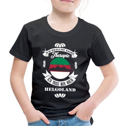 Helgoland Fan Shirt mit der MS Helgoland - Kinder Premium T-Shirt
