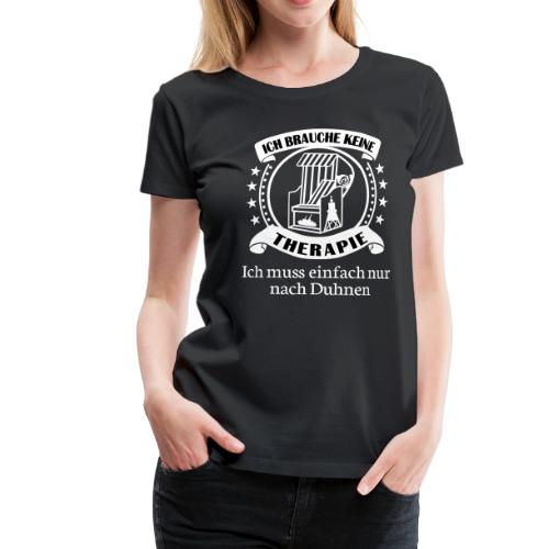 Cuxhaven Fan Shirt mit der MS Helgoland, Jan Cux, Kugelbake - Frauen Premium T-Shirt