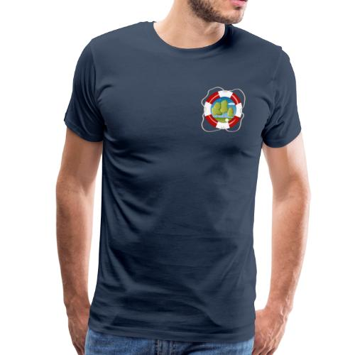 Save the nature - Brustlogo - Männer Premium T-Shirt - Männer Premium T-Shirt