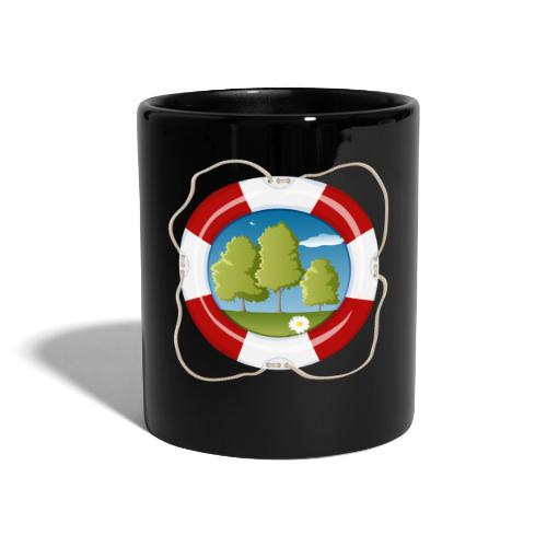 Save the nature - Tasse farbig - Tasse einfarbig