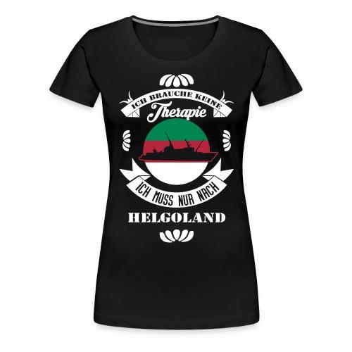 Helgoland Shirt mit der MS Helgoland - Frauen Premium T-Shirt