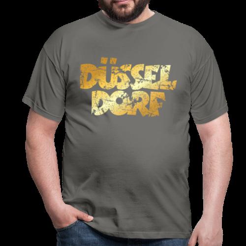 Düsseldorf T-Shirt (Vintage Gold) - Männer T-Shirt